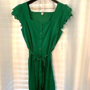 Old Navy Kelly Green summer dress